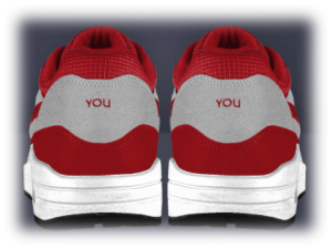 The new You shoes will make you run faster, jump higher, and more awesome to the opposite sex.